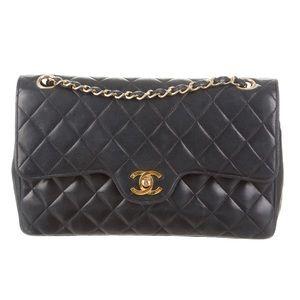 Authentic Vintage Chanel Double Flap Medium Bag🔥